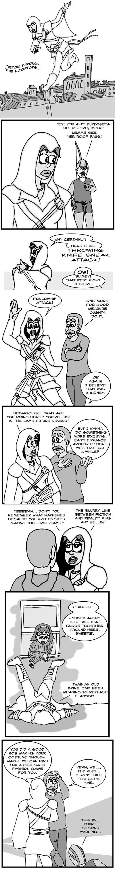 Assassin's Creed II - She's Abusive To Hall Monitors Too